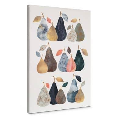 Canvas Print Fredriksson - Perfect Pears
