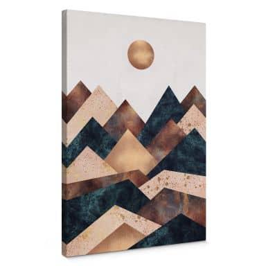 Tableau sur toile Fredriksson - Automne à la montagne