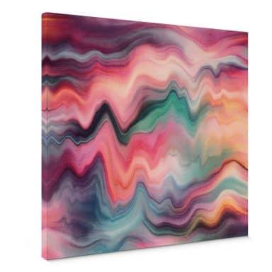 Canvasbillede - Frederiksson - Rainbow Marble