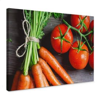 Fresh Cooking Canvas print