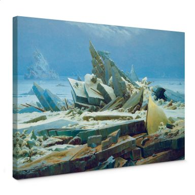 Leinwandbild Friedrich - Das Eismeer