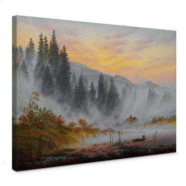 Leinwandbild Friedrich - Der Morgen