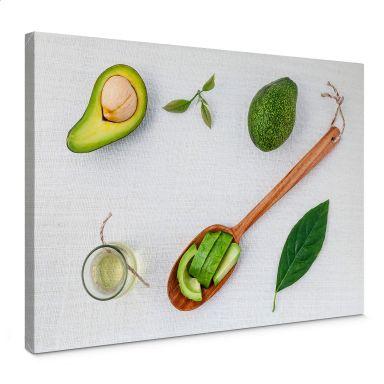 Fresh Avocado Canvas print