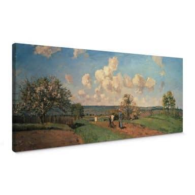 Canvas Camille Pissarro - Voorjaar