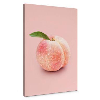 Canvasbillede - Fuentes - Glittery Peach