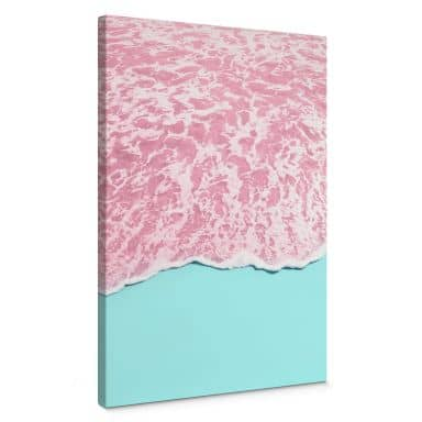 Leinwandbild Fuentes - Pink Sea
