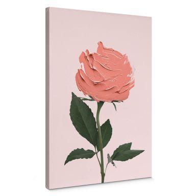 Leinwandbild Fuentes - Rosenmalerei