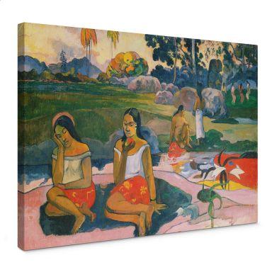Leinwandbild Gauguin - Die wunderbare Quelle