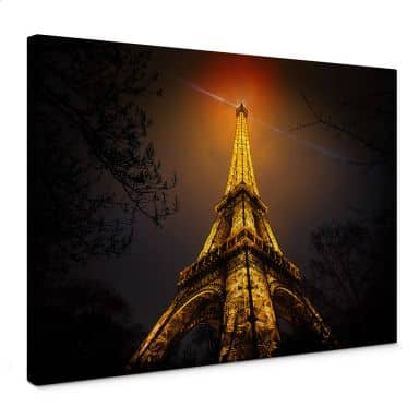 Leinwandbild Geiger - La Tour Eiffel