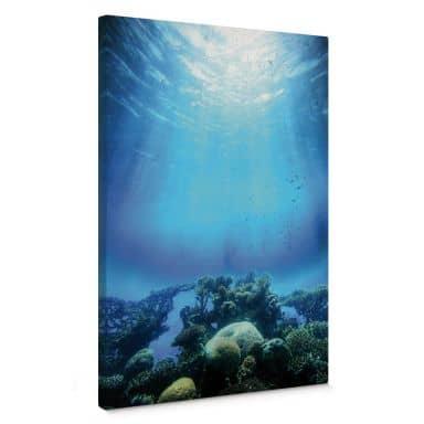 Leinwandbild Deep Blue