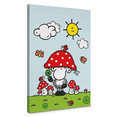 Sheepworld - Lucky Charm Canvas print