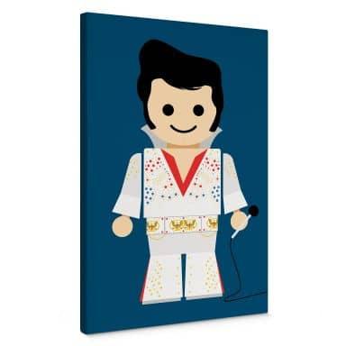 Leinwandbild Gomes - Elvis Spielzeug