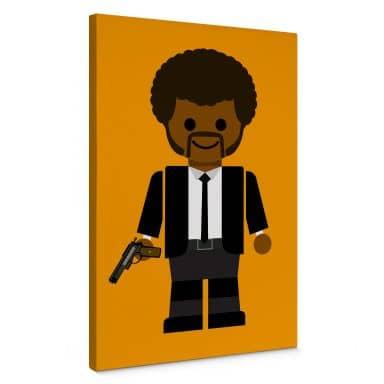 Leinwandbild Gomes - Pulp Fiction Spielzeug Jules Winnfield
