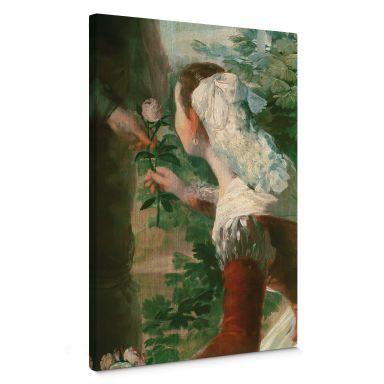 Francisco de Goya - The Springtime Canvas print