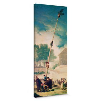 Leinwandbild de Goya - Der Maibaum