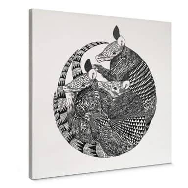 Canvas print Graves - Amadillos