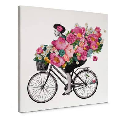 Canvas Graves - Flora Bicycle