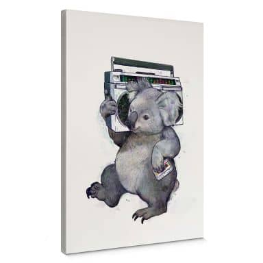 Canvas Print Graves - Misic Koala
