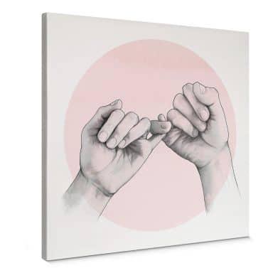 Leinwandbild Graves - Pinky swear