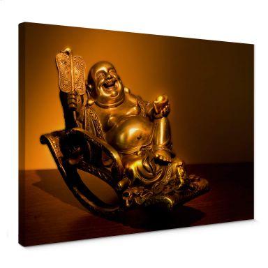 Canvas Happy Boeddha