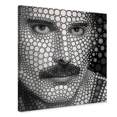 Canvas Ben Heine - Circlism: Freddie Mercury