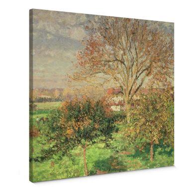 Canvas Camille Pissarro Herfstochtend