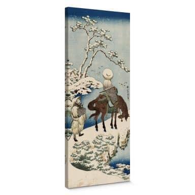 Leinwandbild Hokusai - Der chinesische Dichter Su