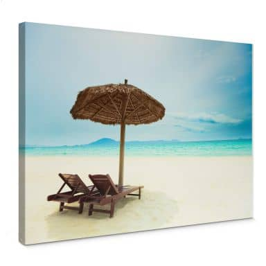 Holiday in Paradise Canvas print