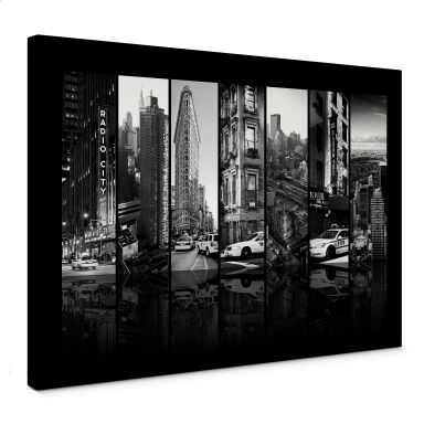 Leinwandbild Hugonnard - New York Scenes