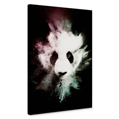 Canvas Print Huhonnard - Wild Explosion: Panda