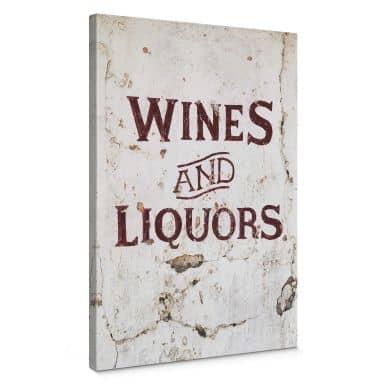 Leinwandbild Hugonnard - Wines and Liquors