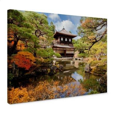 Leinwandbild Japanischer Tempel 2