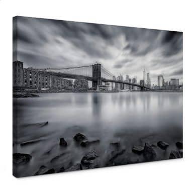Leinwandbild Javier - Brooklyn Bridge