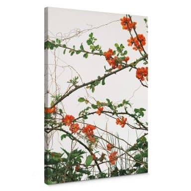 Canvas Kadam - Flora Bloesem