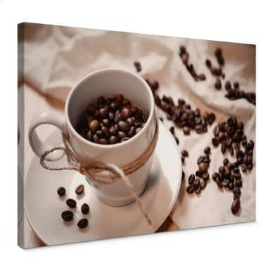 Leinwandbild Kaffee Zauber