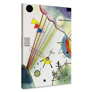 Canvas Print Kandinsky - Clear Connection