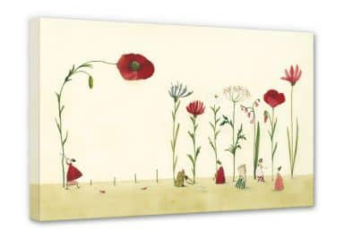 Leinwandbild Leffler - Blumensamen
