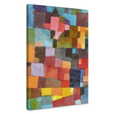 Leinwandbild Klee - Raumarchitekturen