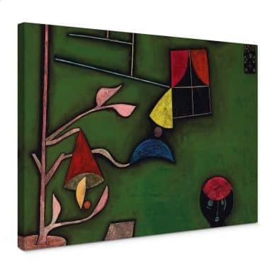 Paul Klee - Stilleven met bloemen in de vensterbank