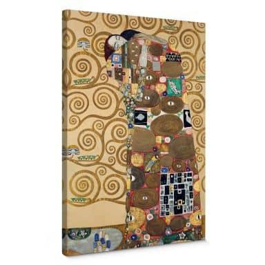 Gustav Klimt - The Fulfilment Canvas print