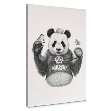 Leinwandbild Kools - Punk Panda