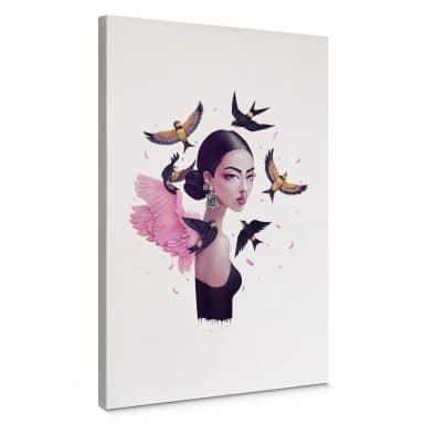 Leinwandbild Korenkova - Boho Girl 1