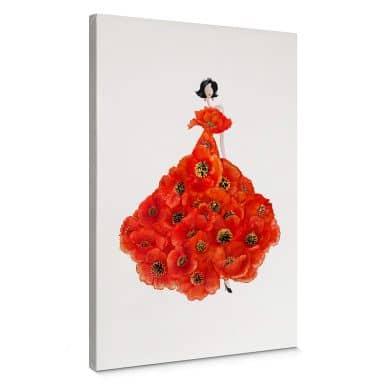 Leinwandbild Korenkova - Fashion Poppies