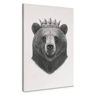 Leinwandbild Korenkova - King Bear