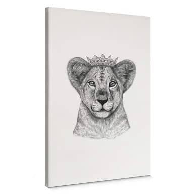 Canvas Korenkova - the Lion Princess
