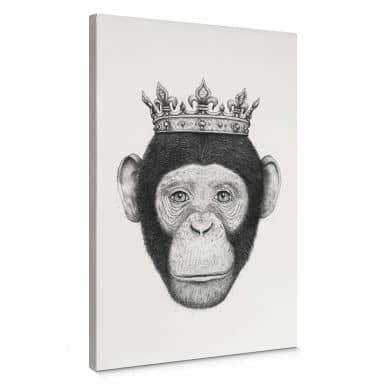 Leinwandbild Korenkova - The King Monkey