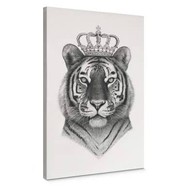 Leinwandbild Korenkova - The Tiger King