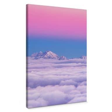 Leinwandbild Krivec - Pink in the sky