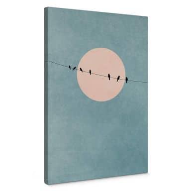 Canvas Print Kubistika - the Beauty of Silence