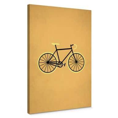 Tableau sur toile Kubistika - Bicyclette